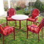 Stolovi i stolice od metala i kovanog gvozdja